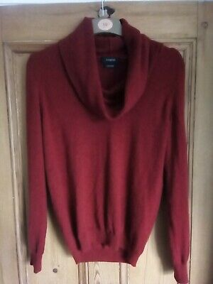 Marks And Spencer Pure Cashmere Jumper Size 10  • 17.70£