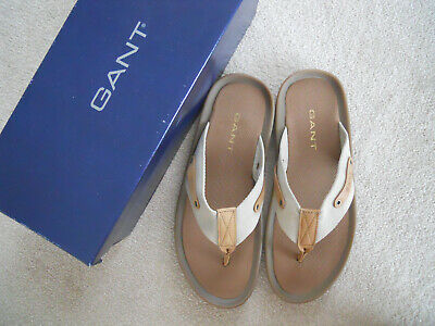 NEW In Box Rare Gant Toe-post Sandals Size 8 UK, 42 Eur • 12.95£
