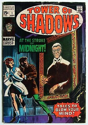 Marvel Comics, Tower Of Shadows #1 June 1974 GD • 0.99£