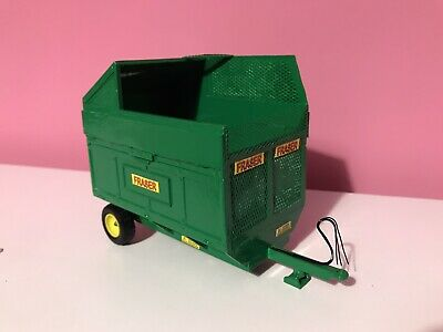 BRITAINS FARM TOYS Silage Tipping Trailer FRASER Conversion For Tractor VGC • 22£