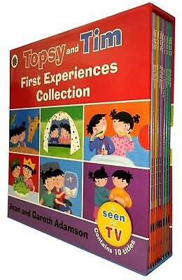 £14.03 • Buy Topsy & Tim First Experiences 10 Books Children Pack Paperback By-Gareth Adamson
