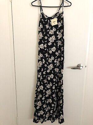 AU12 • Buy Asos Floral Maxi Dress Size S