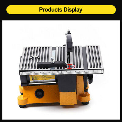 4  Multifunction Mini Table Saw Bench Saw DIY Wood Glass Copper Cutting Machine • 66.85£