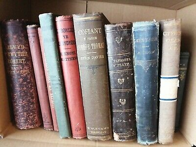 Collection Of Antique Welsh Language Books  • 50£