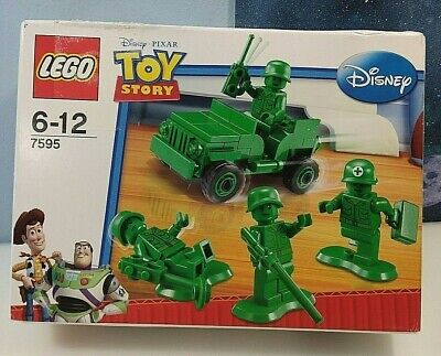 Lego Toy Story Green Army Men Soldier Set 7595 Bricks Build Toy New Sealed • 30£
