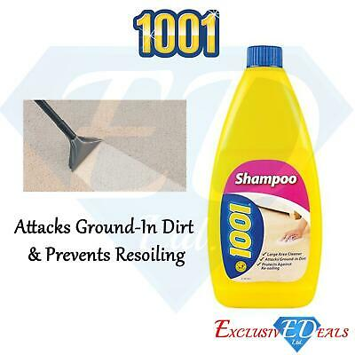 1001 Carpet Shampoo Treatment Yellow Bottle 450ml • 5.95£