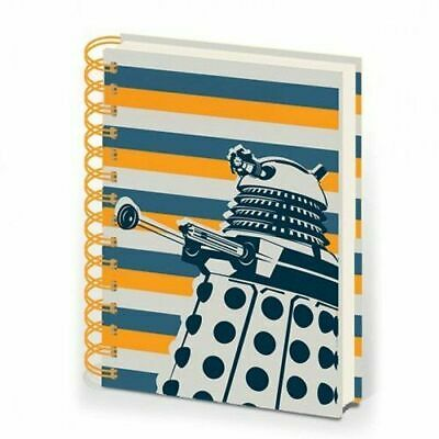 Officially Licensed Doctor Who Dalek Stripe A5 Notebook Notepad Journal • 9.49£