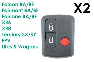 AU19.49 • Buy Ford Remote Control BA/BF Falcon Territory SX/SY/Ute/Wagon 02-10 3 Button