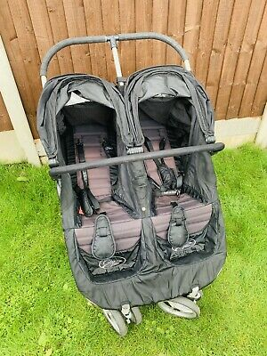 Baby Jogger City Mini Double Pushchair - Black • 42£