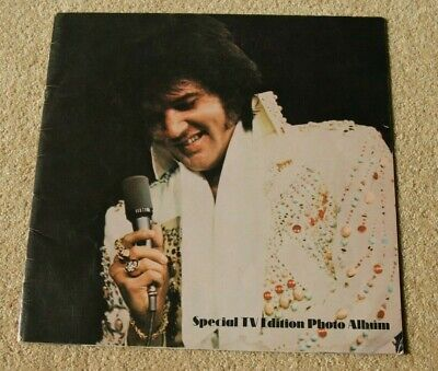 Elvis Special TV Edition Photo Album 20 Pages Of Photos. • 8£