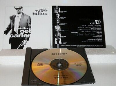Tyler Bates -  Get Carter Promotional ONLY CD -  ** Free Shipping** • 15.19£
