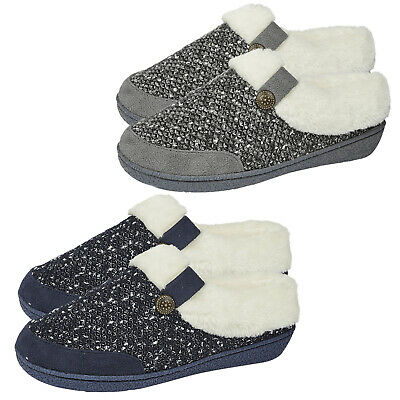 Ladies Mule Slippers Ladies Mule Slippers Hard Sole Ladies Memory Foam Slippers  • 12.97£