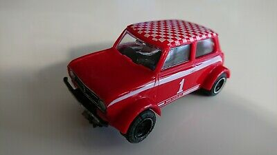 C122 Mini 1275GT Rally Special Red Scalextric Car Vintage Excellent • 4.41£