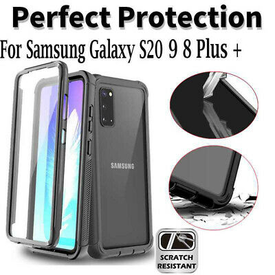AU16.66 • Buy 360 Case For Samsung Galaxy S20 Plus Ultra S9 S8 + Heavy Duty Drop Proof Cover