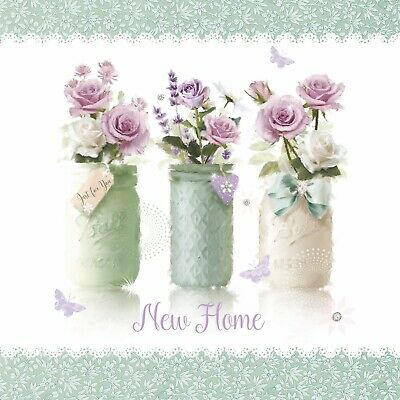 New Home (SCENTED) Card QUALITY CARD Cherry Orchard • 1.99£