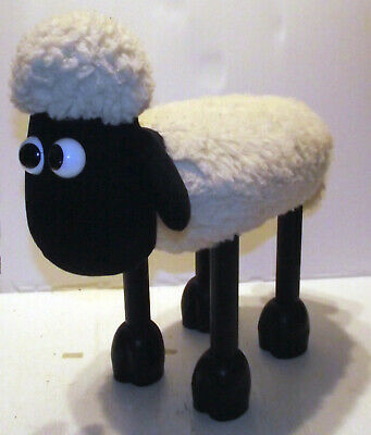 Vintage Boots 18  Shaun The Sheep Foot Stool - Wallace & Gromit • 34.99£