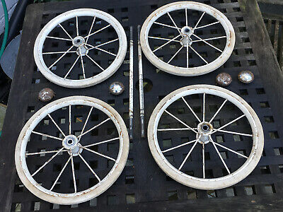 Vintage Lines Bros(  Triang) Wheels And Axles. • 20£