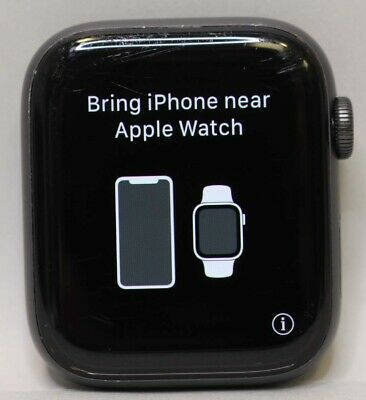 $ CDN317.13 • Buy Unlocked Apple Watch 44mm Series 4 Gray Aluminum - Face Only - Clean *read*