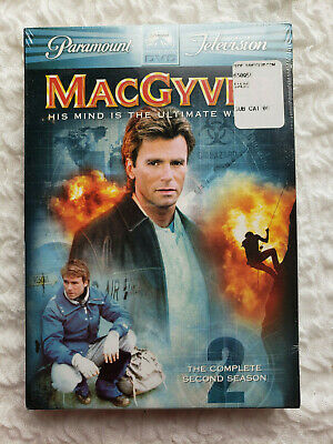 $9.99 • Buy MacGyver - The Complete Second Season (DVD, 2005, 6-Disc Set) SEALED