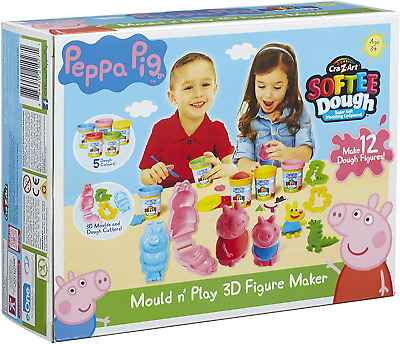 Peppa Pig 21027 Dough Mould And Play 3D Figure Maker Multi-Colour • 22.14£