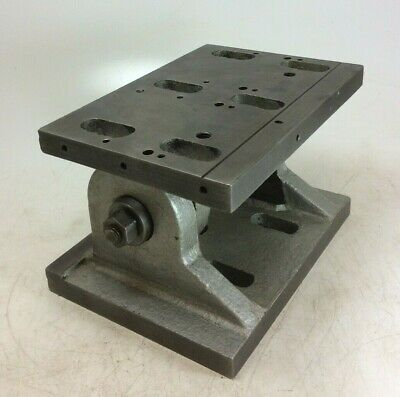 Heavy Duty Adjustable Tilting Angle Plate  | 0-90° | 9⅞  X 7  Table | 6¾  Height • 190£