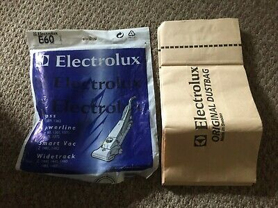 Electrolux Vacuum Cleaner Bags E60 Sidetrack 1400 Series • 4£