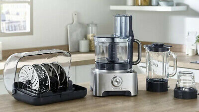 View Details Kenwood FPM910 MultiPro Excel Food Processor 1300W 4L Bowl Variable Speed Silver • 299.00£