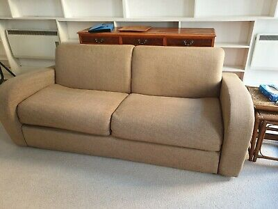 Comfortable John Lewis Double Sofa Bed In Excellent Condition, London • 25£