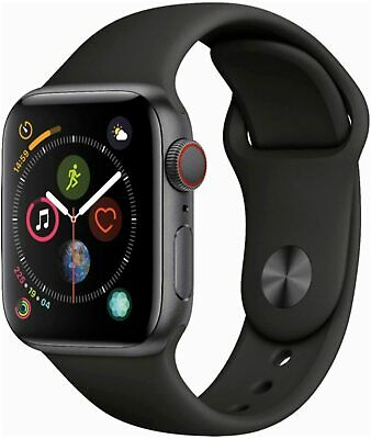 $ CDN317.11 • Buy Authentic Apple Watch Series 4 44mm GPS + WiFi + Cellular Smart Watch Space Grey