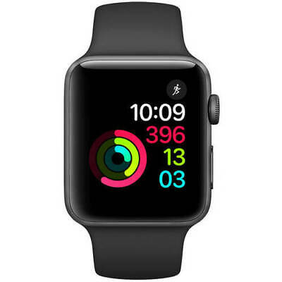 $ CDN163.29 • Buy Apple Watch Series 2 - 42mm - Black Aluminum Case / Sport Band - Smartwatch