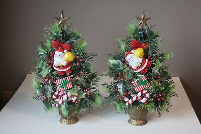 $ CDN13.14 • Buy Christmas Kitsch! Two (2) Vintage PVC / Soft Plastic Wall Decorations