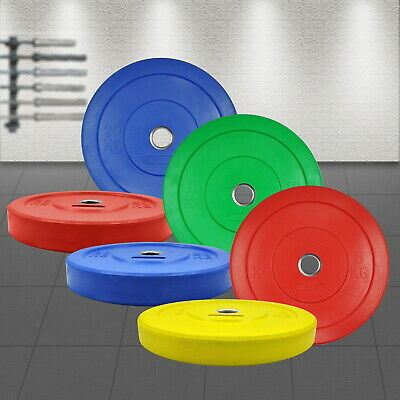AU199.95 • Buy 5KG - 25KG Competition Grade Coloured Bumper IWF Weight Plates - Pro Grade
