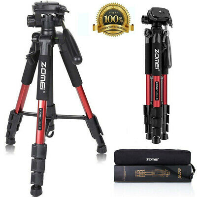 £18.99 • Buy Professional ZOMEI Q111 Portable Travel Camera Tripod For Camcorder DSLR Phone