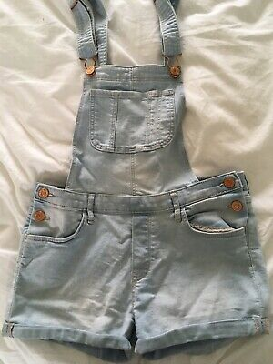 Girls Short Dungarees (age 11-12 Years) • 1.50£