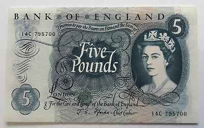 5 Pound Note Portrait Series Fforde • 15£