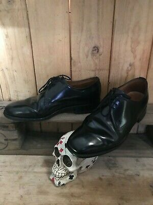 Leather Derby Shoes High Shine Gibson Dress Shoe Derby's By Sanders  • 14.99£