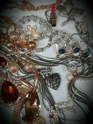 $ CDN18 • Buy  💕Stunning Vintage Costume Jewelry Lot~Chain~Bracelet Rings~Sets~some Signed!💕