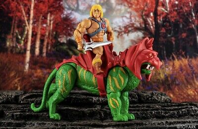 $64.99 • Buy  Masters Of The Universe Origins 2020 He-man  And Battle Cat Walmart Exclusives