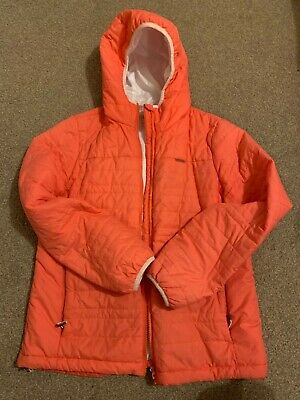 Craghoppers Womens Compresslite Packaway Hooded Jacket Size 12 Peach • 5£
