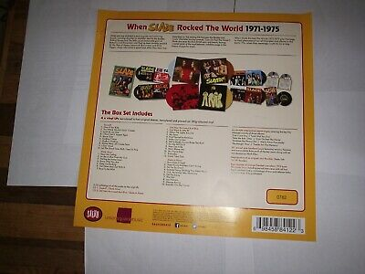 Slade,noddy Holder, When Slade Rocked The World Poster From The Box Set.glam,70s • 4.99£