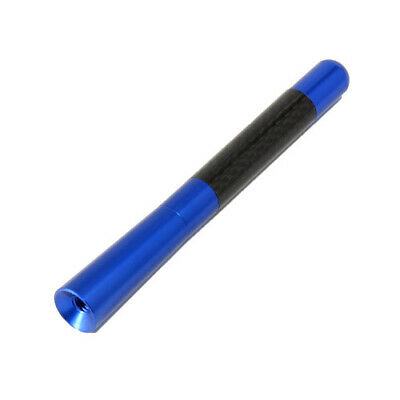 £6.89 • Buy New 4.7'' Blue Carbon Car Aerial Antenna Ariel Arial Stubby Bee Sting Mast Decor