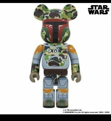 $2370.60 • Buy Mint I Have It At Hand. Which Is Be Rbrick Bape Boba Fett 1000 Bearbrick Star