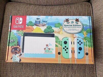 $ CDN700 • Buy Nintendo Switch Console Animal Crossing New Horizons Special Edition Brand New