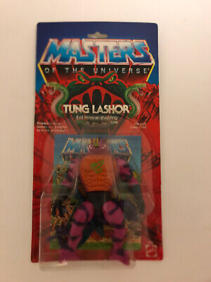 $400 • Buy MOTU, Tung Lashor, Masters Of The Universe, MOC, Carded, Figure, He Man, Sealed