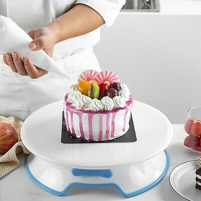 30cm Kitchen Cake Decorating Icing Rotating Revolving Turntable Display Stand • 16.90£