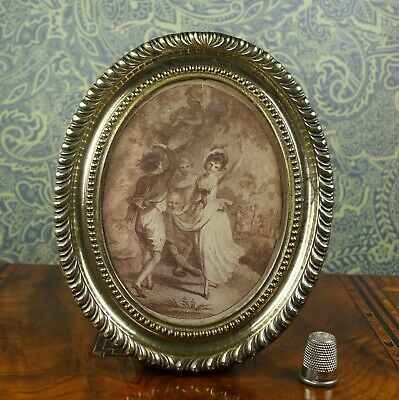 £375 • Buy 18th Century Miniature Sepia Engraving Of Dancers Georgian C1790 By Taylor