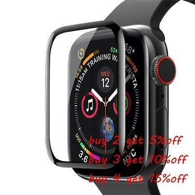 $ CDN3.70 • Buy Tempered Glass Screen Protector Protective Film For Apple Watch Series 6 5 4 SE