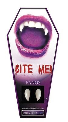 £7.99 • Buy Vampire Teeth Fangs For Halloween - Professional Fit With Reusable Dental Cement