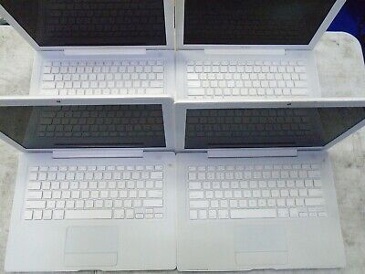 $ CDN79.27 • Buy AS IS Lot Of 4 Apple Macbook A1181 Laptops 13.3  C2D 512 2006 1.83GHZ MA254LL/A