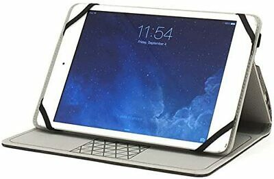 $9.99 • Buy Folio Universal Case For 9-10  Tablets Landscape Stand M-Edge Heather Grey